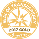 Guidestar Gold Seal of Trasparency